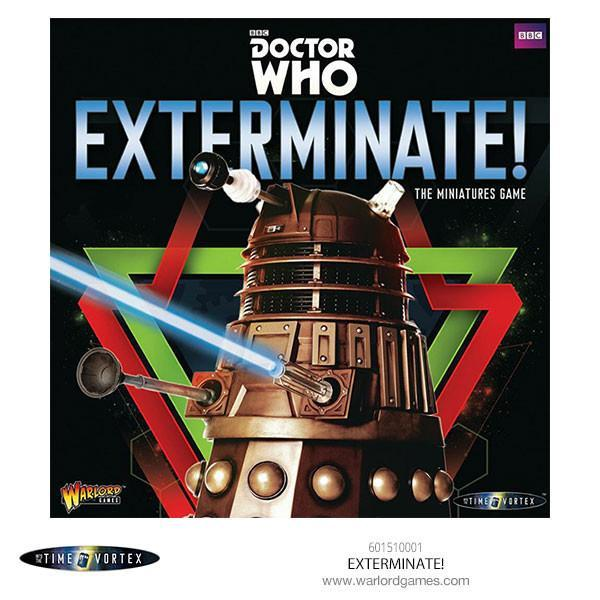 Dr Who - Exterminate! - The Miniatures Game