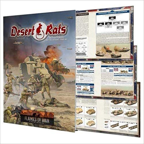 Flames of War Desert Rats Book