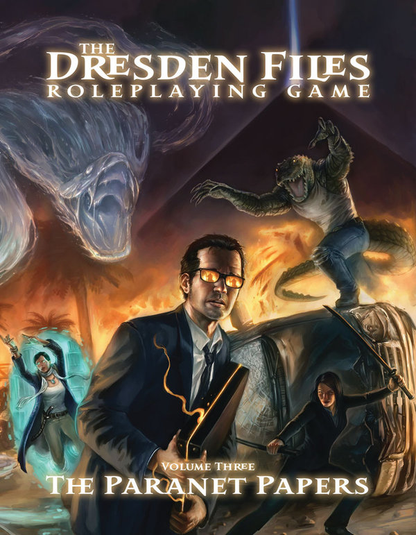 Dresden Files RPG: Volume 3 - Paranet Papers